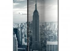 Paraván - Amazing view to New York Manhattan at sunrise [Room Dividers]